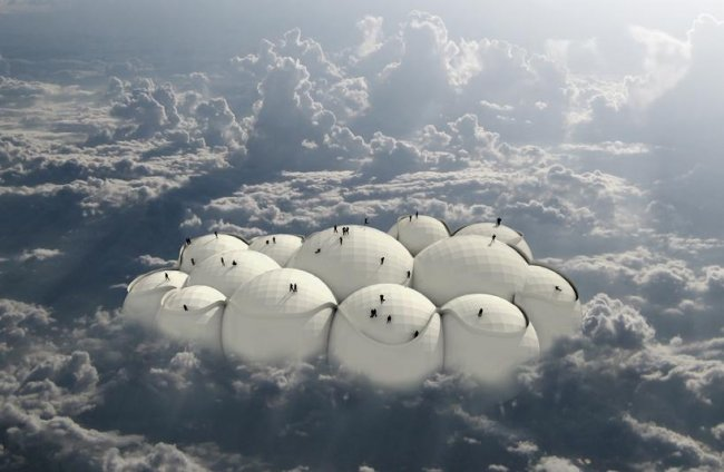 Літак у вигляді хмаринки