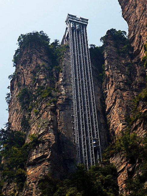 Самый высокий лифт в мире (5 фото)