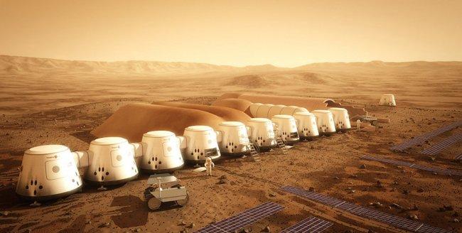 Mars One – первая колония людей на Марсе
