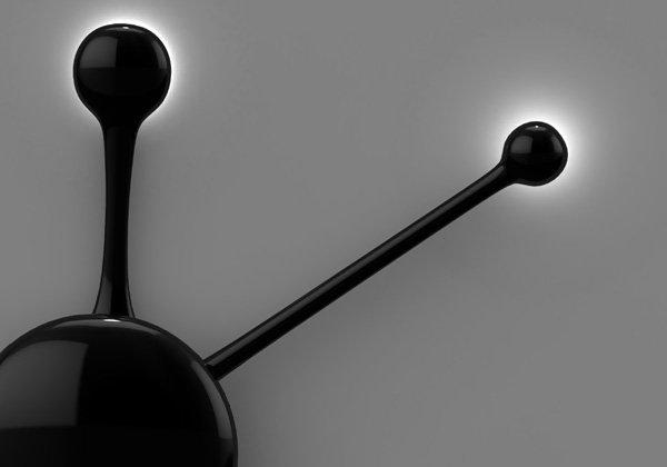 Современные настенные часы Pendulum Wall Clock от Nuno Teixeira.