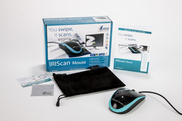 Мышка-сканер IRIScan Mouse - возможно самая полезная компьютерная мышка