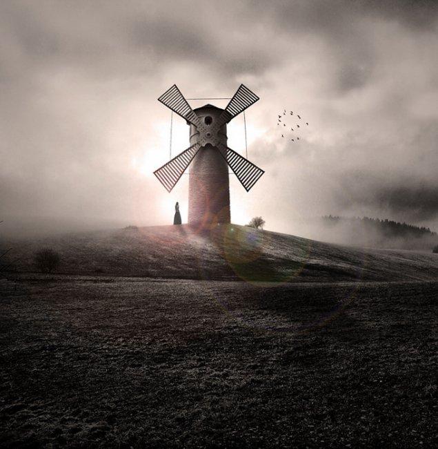 Необычные картины от Джорджа Кристакиса (George Christakis) (15 фото)