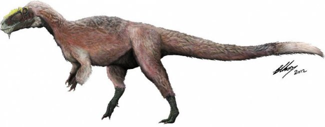 В Китае найдены окаменелости оперенного тираннозавра (3 фото)