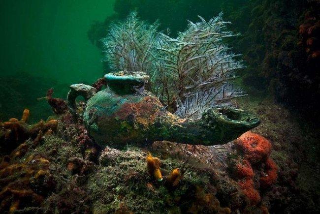 Древний Гераклион — затерянный подводный город (19 фото)