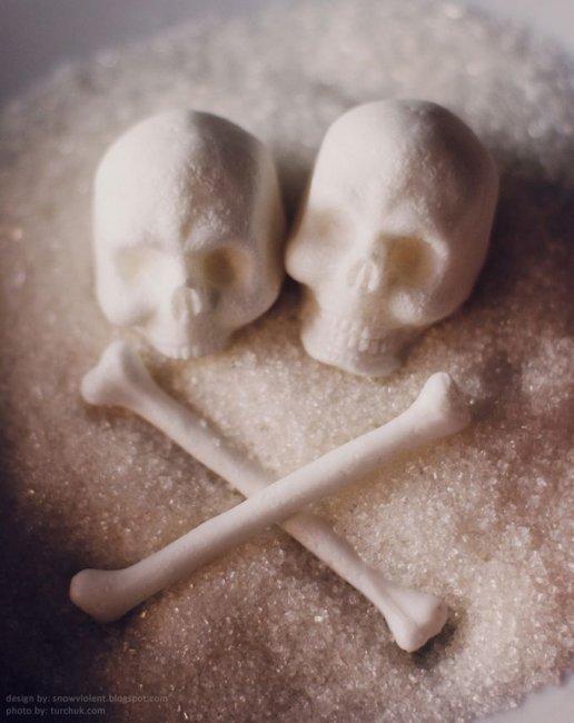 Необычный сахар от студии Snow Violent