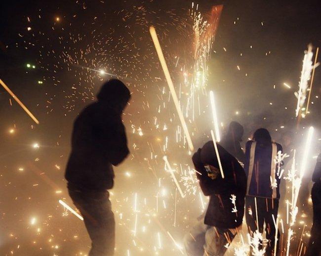 Ежегодный пиротехнический фестиваль в Тультепеке (12 фото + 1 видео)