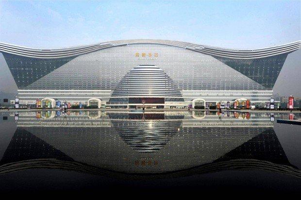 Самое большое здание на Земле