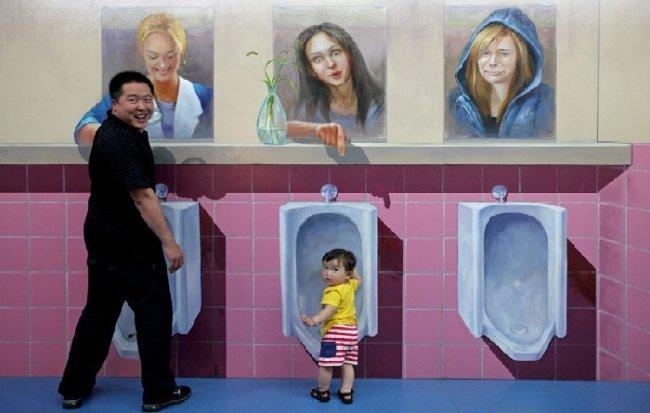 Выставка объемных картин в Циндао (7 фото)