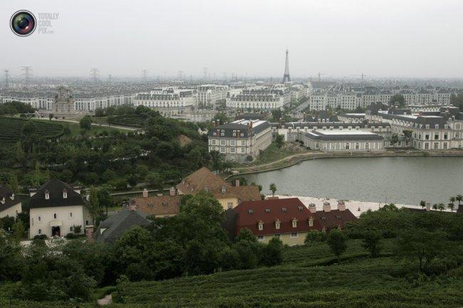 Копия Парижа отстроили за пять лет в Китае (20 фото)