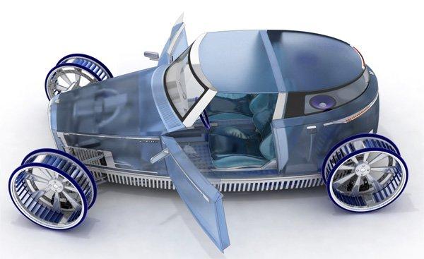 Автомобиль Ventile: 2 в 1