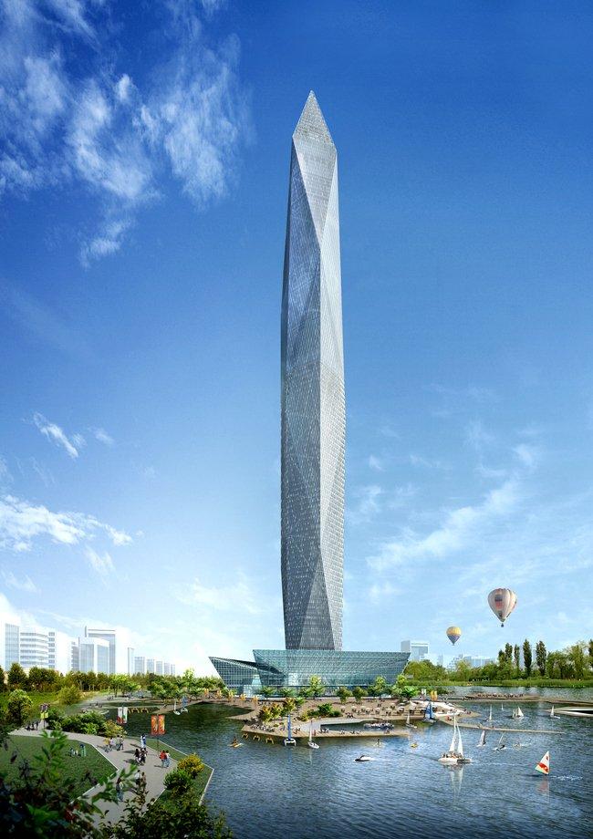 Хмарочос-невидимка Infinity Tower