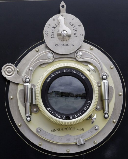 Самый большой в мире фотоаппарат