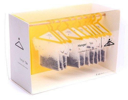 Упаковка чая с креативом