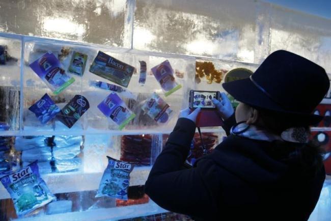 Магазин озо льда (8 фото)