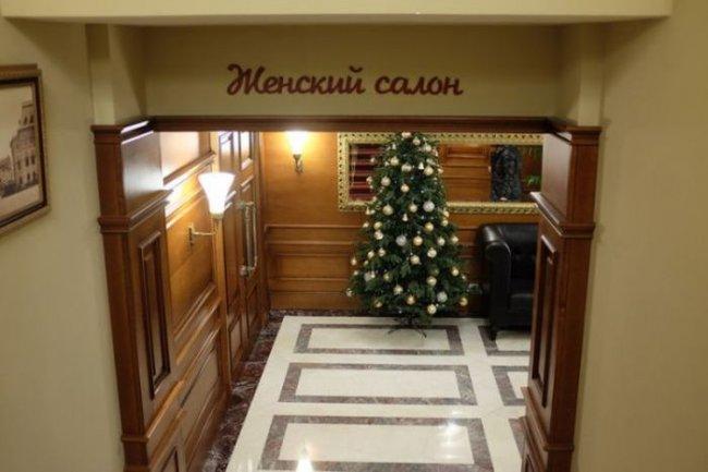 Шикарный московский туалет (7 фото)