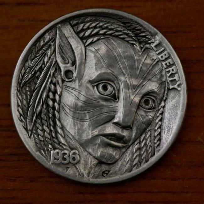 Hobo nickel - новое направление в искусстве (36 фото)