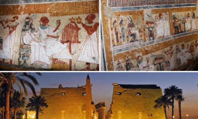 В Египте нашли гробницу древнего пивовара (4 фото)