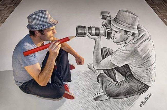 Карандаш против камеры (часть 4)