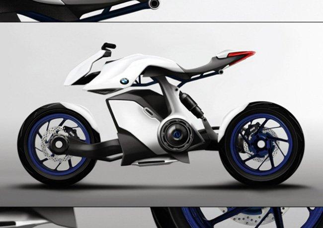 Концепт экологичного мотоцикла от BMW