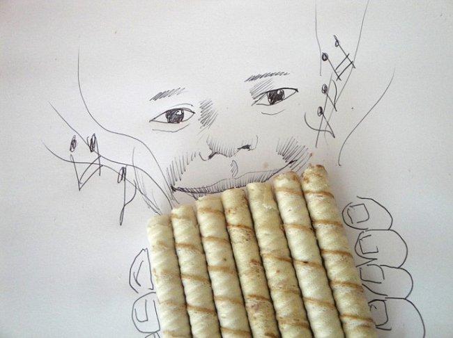 Искусство из подручных материалов (20 фото)