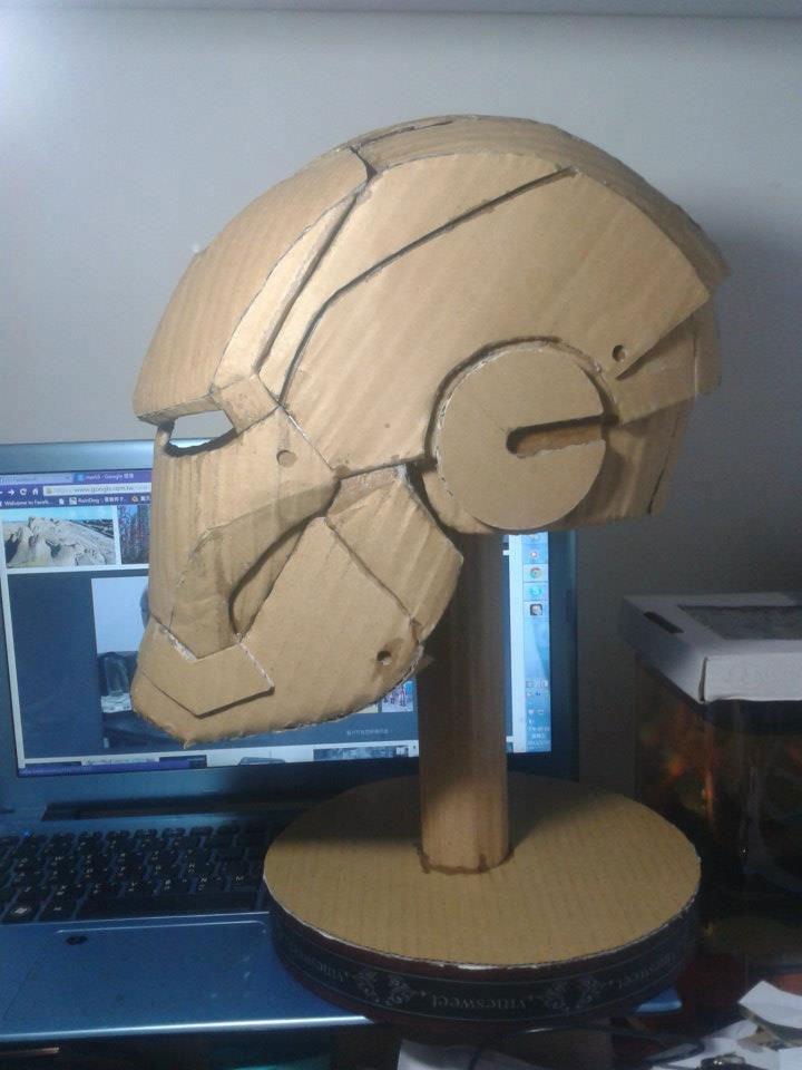 Шлемы железного человека своими руками
