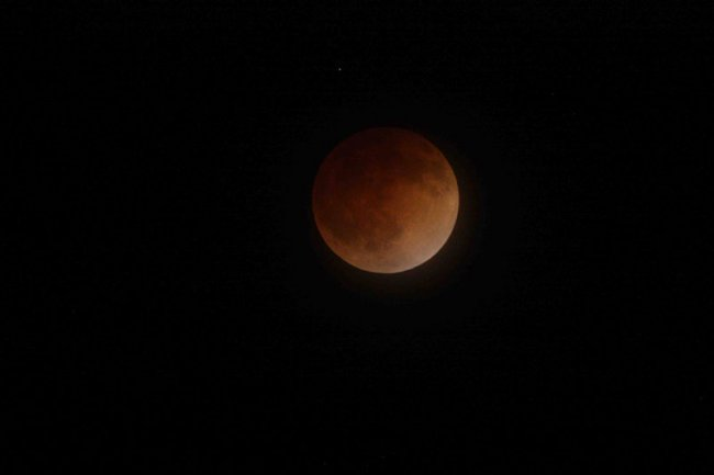 Фото дня 16.04.2014 - Кровавая луна