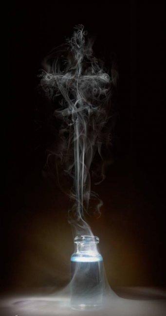Дымное искусство (12 фото)