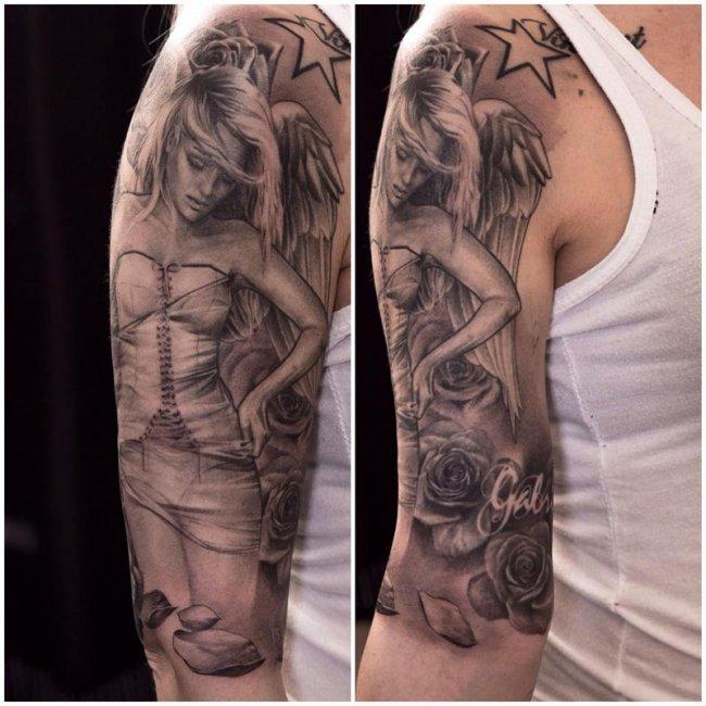 Невероятные татуировки от Ники Норберга (10 фото)