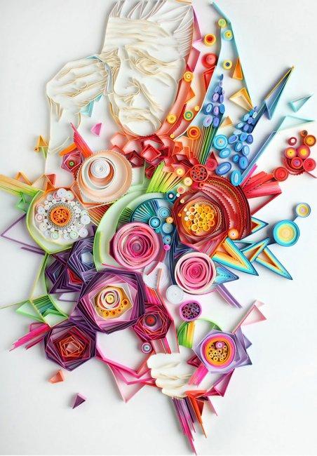 Бумажное искусство квиллинг (7 фото)