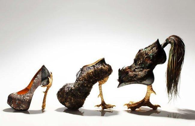 Странная, необычная и жуткая обувь (47 фото