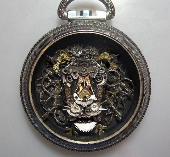 Новая жизнь старых часов  (8 фото)