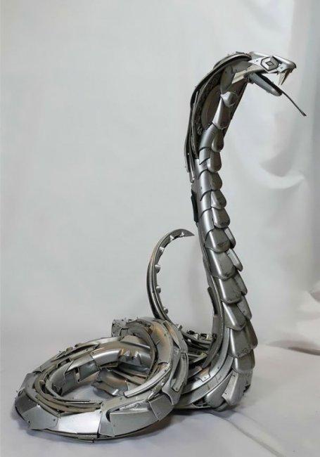 Скульптуры Птолемея Элрингтона (19 фото)