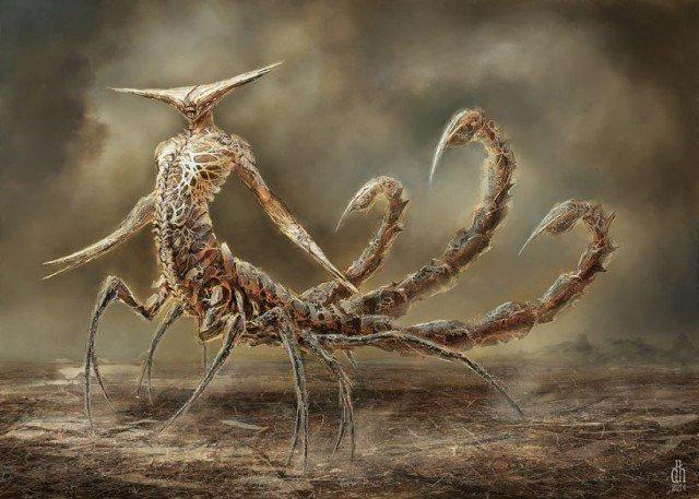 Чудовищные знаки зодиака от Деймона Хелландбранда