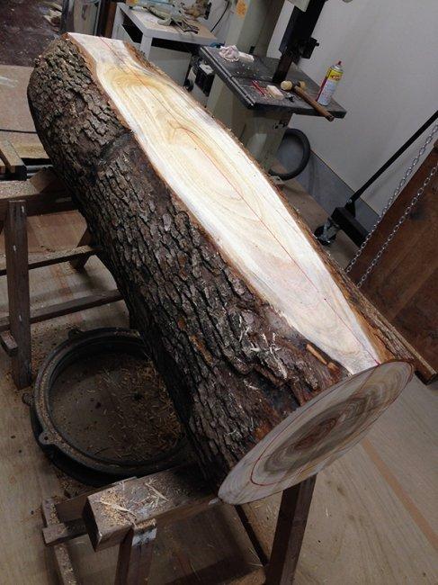 Процесс изготовления деревянной скульптуры  (23 фото)