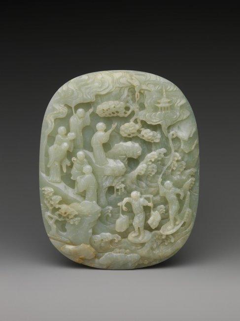 12 изумительных скульптур из нефрита (12 фото)