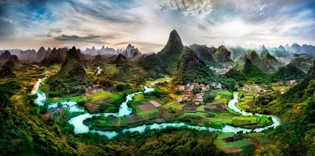 Северная Гуанси, Китай (фото дня)