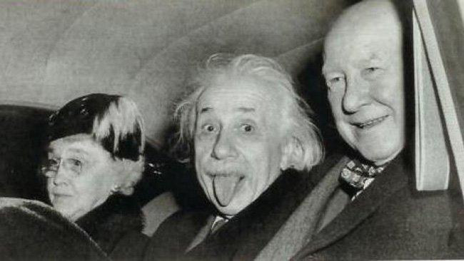 Оригинальное фото Альберта Эйнштейна (фото дня)