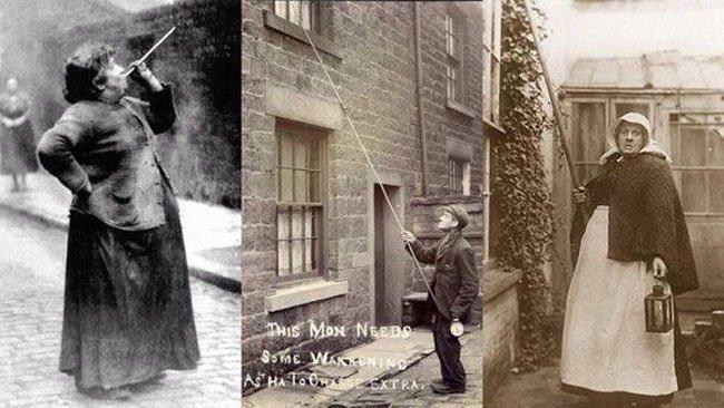 Профессия будильщиков в Англии (фото дня)