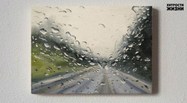 Художник,рисующий дождь (9 фото)