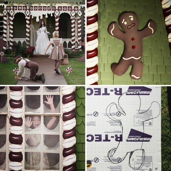 Рождественский домик от Кристины Макконелл (5 фото)
