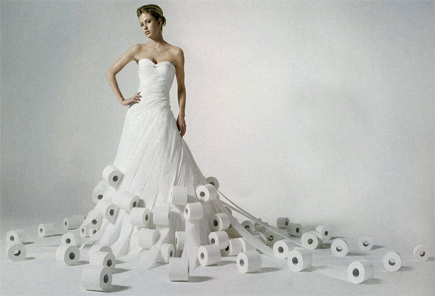 27cbe8a5a41 10 самых невероятных свадебных платьев (10 фото) » Интересные факты ...