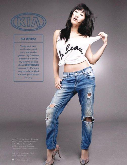 Виктория Пашута сняла моделей, представив их как модели автомобилей (12 фото)