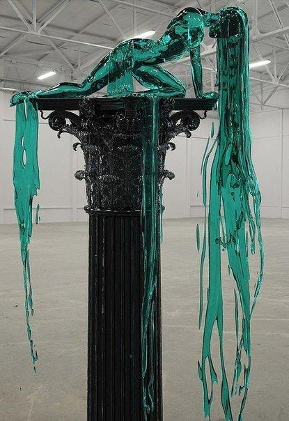 Скульптура из стекла Художник Alexandra Reeves (5 фото)