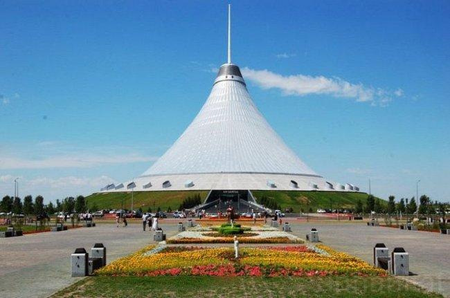 Астана - самая, самая, самая .. столица в Мире
