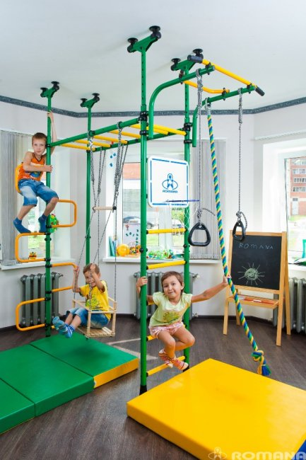Домашние спортивные уголки для детей
