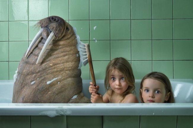 дочь зашла в душь к матери фото