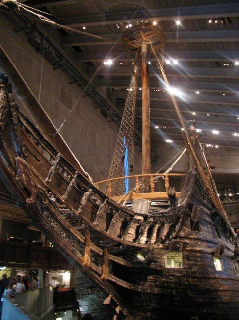 Vasa — единственный в мире сохранившийся корабль постройки XVII века (16 фото)