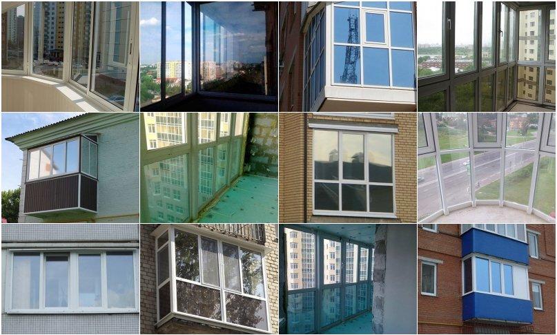 Тонированные балконы фото..