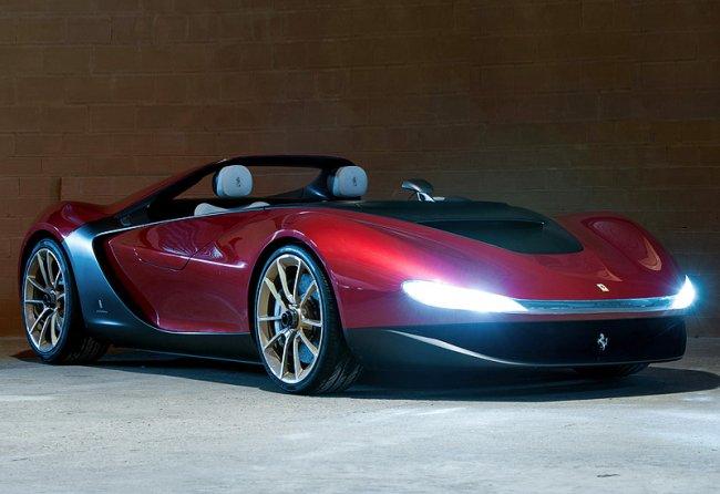 Ferrari Sergio Pininfarina - этим все сказано (9 фото)