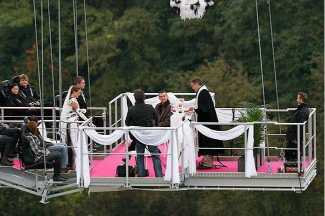 Оригинальные свадьбы (5 фото)